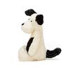 Jellycat Jellycat Bashful Black & Cream Puppy, Small