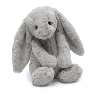 Jellycat Jellycat Bashful Grey Bunny, Small