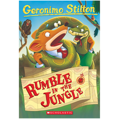 Scholastic Geronimo Stilton #53: Rumble in the Jungle