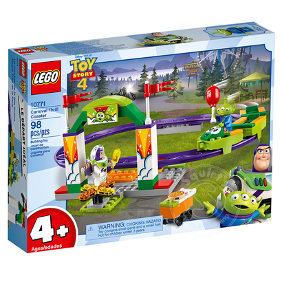 LEGO® LEGO® 4+ Toy Story 4 Carnival Thrill Coaster