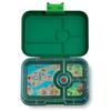 Yumbox YumBox Tapas 4 Compartment - Brooklyn Green w/ NYC Tray