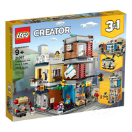 LEGO® LEGO® Creator Townhouse Pet Shop Cafe