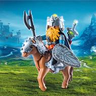 Playmobil Playmobil Dwarf Fighter with Pony