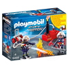 Playmobil Playmobil Firefighters with Water Pump