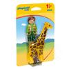 Playmobil Playmobil 123 Zookeeper with Giraffe