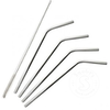 Onyx Stainless Steel Straws SHORT (4 pack with Brush)