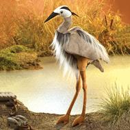Folkmanis Folkmanis Great Blue Heron Puppet RETIRED