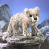 Folkmanis Folkmanis Snow Leopard Puppet
