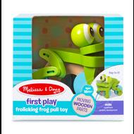 Melissa & Doug Melissa & Doug Frolicking Frog Pull Toy