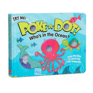 Melissa & Doug Melissa & Doug Poke-A-Dot Book Who's in the Ocean