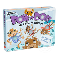 Melissa & Doug Melissa & Doug Poke-A-Dot Book 10 Little Monkeys