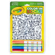 Crayola Color-In Socks Monster Party