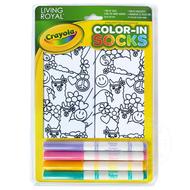 Crayola Color-In Socks Peace Out Llama