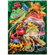 Cobble Hill Puzzles Cobble Hill Frog Business Puzzle 1000pcs