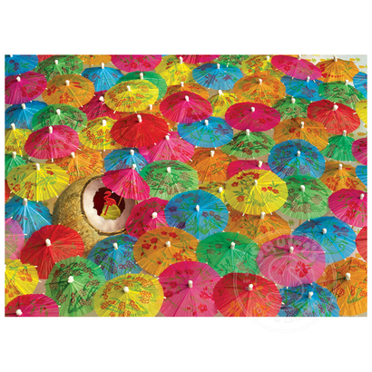 Cobble Hill Puzzles Cobble Hill The Lime in the Coconut Puzzle 1000pcs