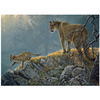 Cobble Hill Puzzles Cobble Hill Excursion - Cougars and Kits Family Puzzle 350pcs