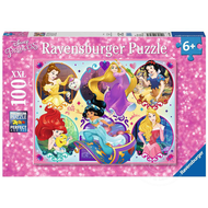 Ravensburger Ravensburger Disney Princess: Be Strong, Be You Princesses Puzzle 100pcs
