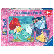 Ravensburger Ravensburger Disney Princess: Pincesses Adventure Puzzle 3 x 49pcs