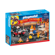 Playmobil Playmobil Fire Brigade Advent Calendar