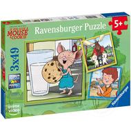 Ravensburger Ravensburger Give a Mouse a Cookie: Mouse and Friends Puzzle 3 x 49pcs