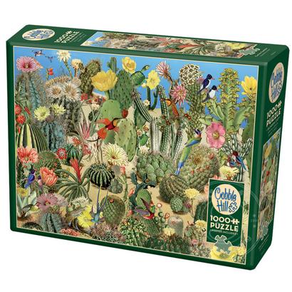 Cobble Hill Puzzles Cobble Hill Cactus Garden Puzzle 1000pcs