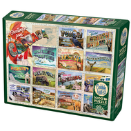 Cobble Hill Puzzles Cobble Hill Greetings from Canada Puzzle 1000pcs