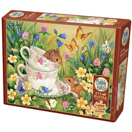 Cobble Hill Puzzles Cobble Hill Tea for Two Easy Handling Puzzle 275pcs