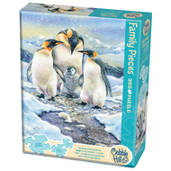 Cobble Hill Puzzles Cobble Hill Penguin Family Family Puzzle 350pcs