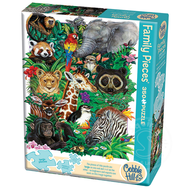 Cobble Hill Puzzles Cobble Hill Safari Babies Family Puzzle 350pcs
