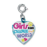 Charm It Charm It! Girls Can Change the World Charm