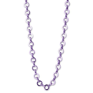Charm It Charm It! Purple Necklace