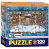 Eurographics Eurographics Spot & Find: Hockey Puzzle 100pcs