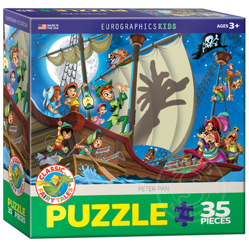 Eurographics Eurographics Peter Pan Puzzle 35pcs