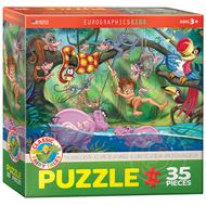 Eurographics Eurographics The Jungle Book Puzzle 35pcs