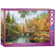 Eurographics Eurographics Autumn Church Puzzle 1000pcs