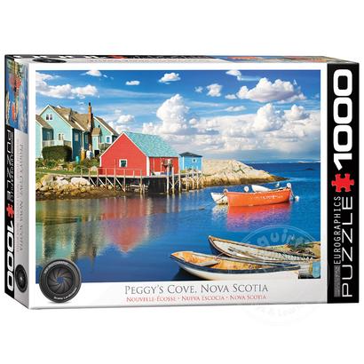 Eurographics Eurographics Peggy's Cove, Nova Scotia Puzzle 1000pcs