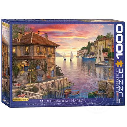 Eurographics Eurographics Mediterranean Harbour Puzzle 1000pcs