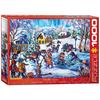 Eurographics Eurographics Snow Day Puzzle 1000pcs