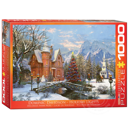 Eurographics Eurographics Holiday Lights Puzzle 1000pcs