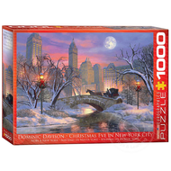 Eurographics Eurographics Christmas Eve in NYC Puzzle 1000pcs