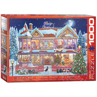 Eurographics Eurographics Getting Ready for Christmas Puzzle 1000pcs