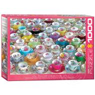 Eurographics Eurographics Teacup Collection Puzzle 1000pcs