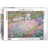Eurographics Eurographics Monet's Garden Puzzle 1000pcs