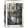 Eurographics Eurographics Study for Northern River Puzzle 1000pcs