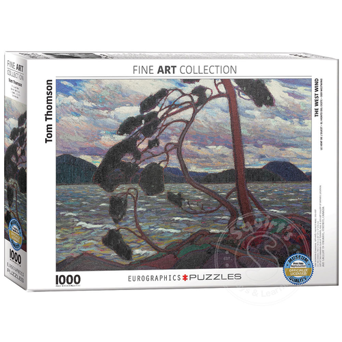 Eurographics Eurographics The West Wind Puzzle 1000pcs