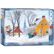 Eurographics Eurographics Winter Morning in Baie-St. Paul Puzzle 1000pcs
