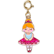 Charm It Charm It! Gold Swivel Ballerina Charm