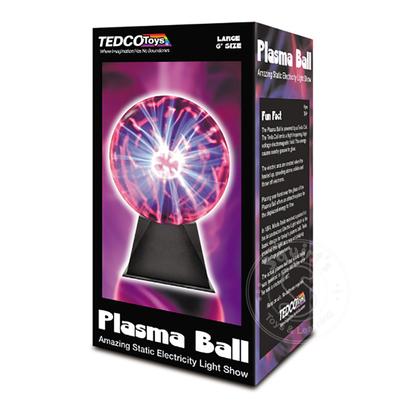 "Plasma Ball Lamp 6"""
