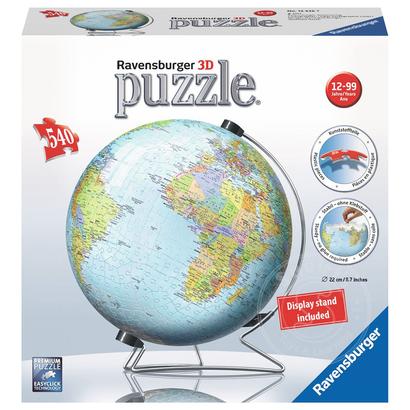 Ravensburger Ravensburger 3D The Earth Globe Puzzle 540pcs