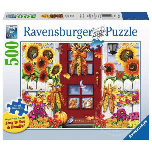 Ravensburger Ravensburger Autumn Birds Large Format Puzzle 500pcs